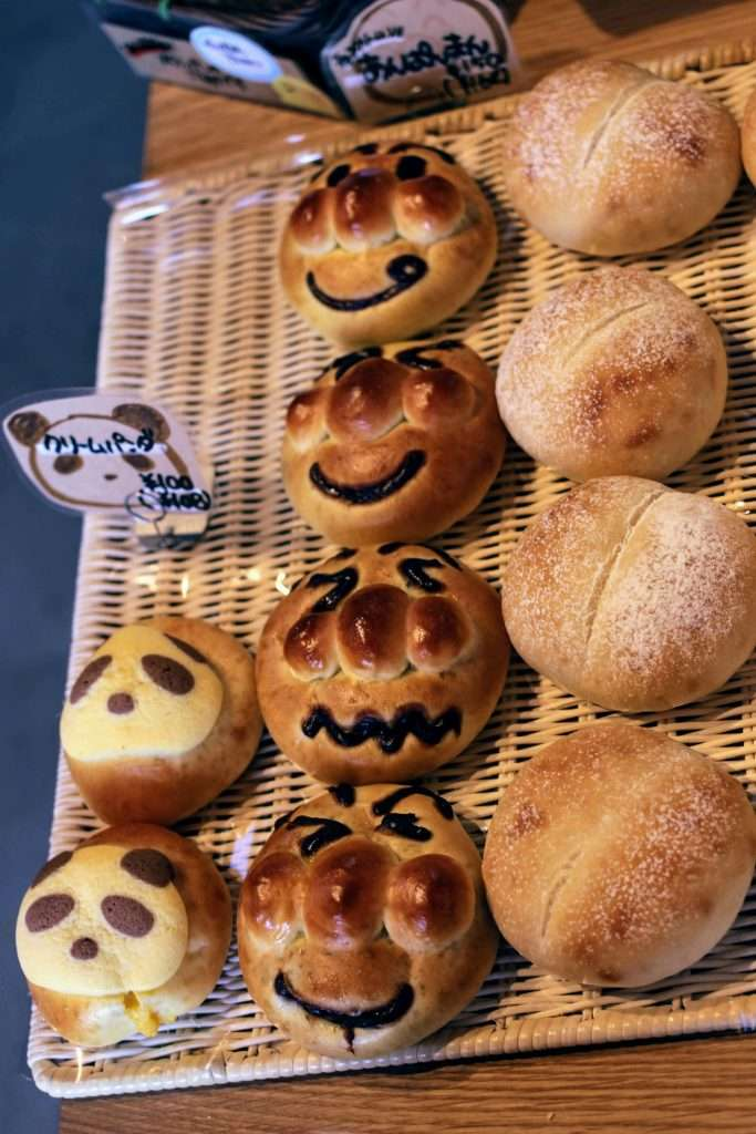 kids bread at nicori bakery kawagoe