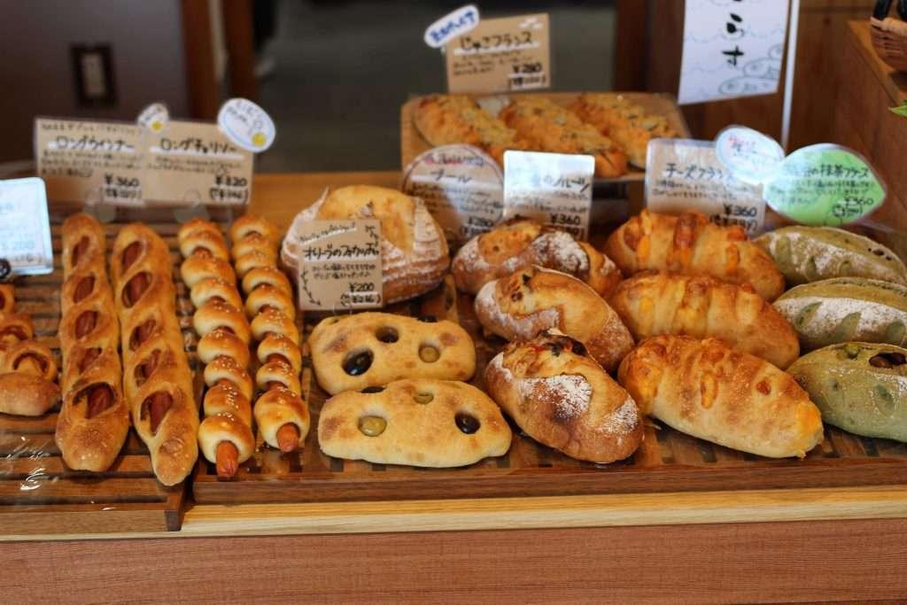 bread at kawagoe bakery