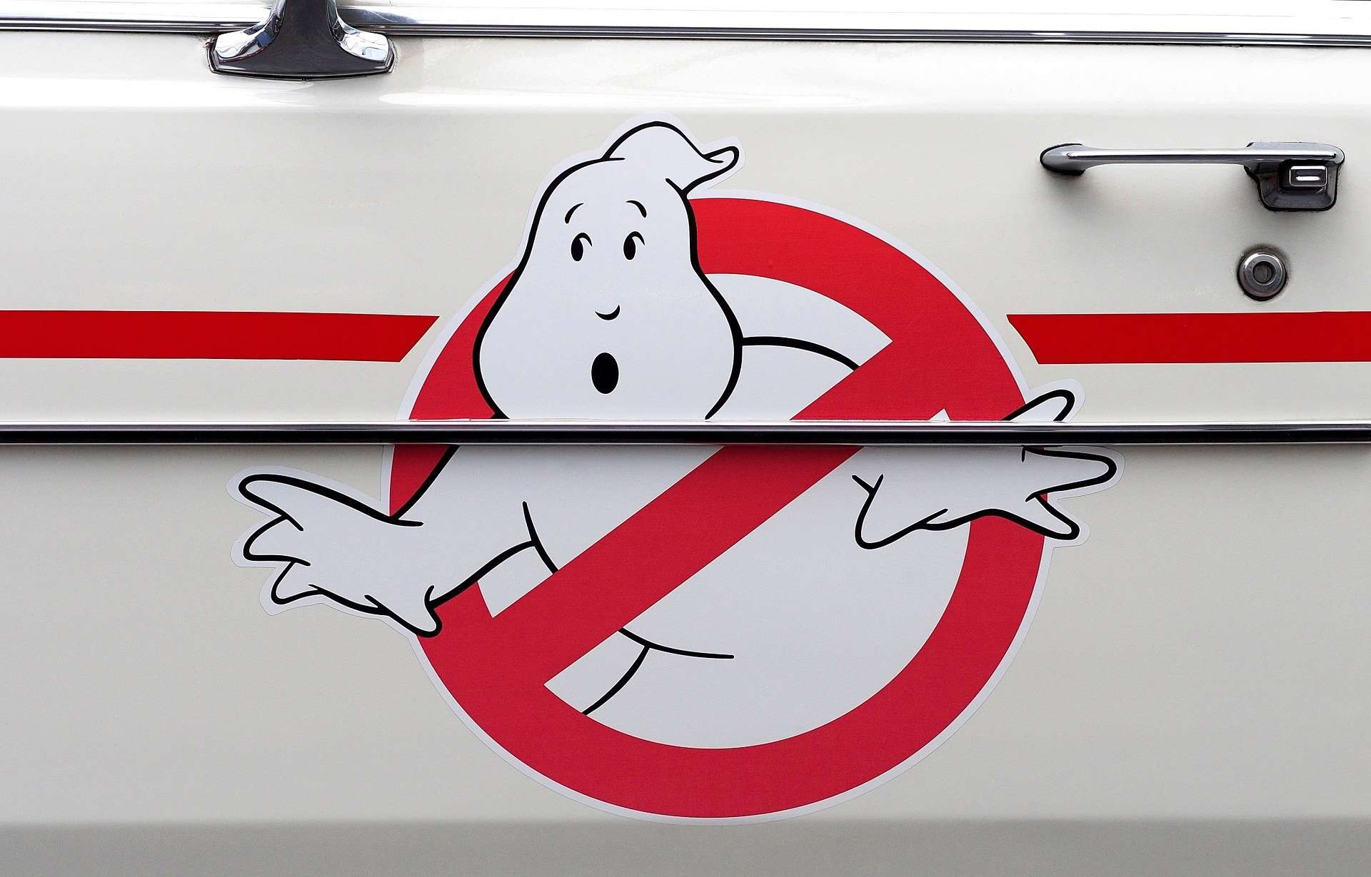 Halloween drive-in theater Kawajima Ghostbusters