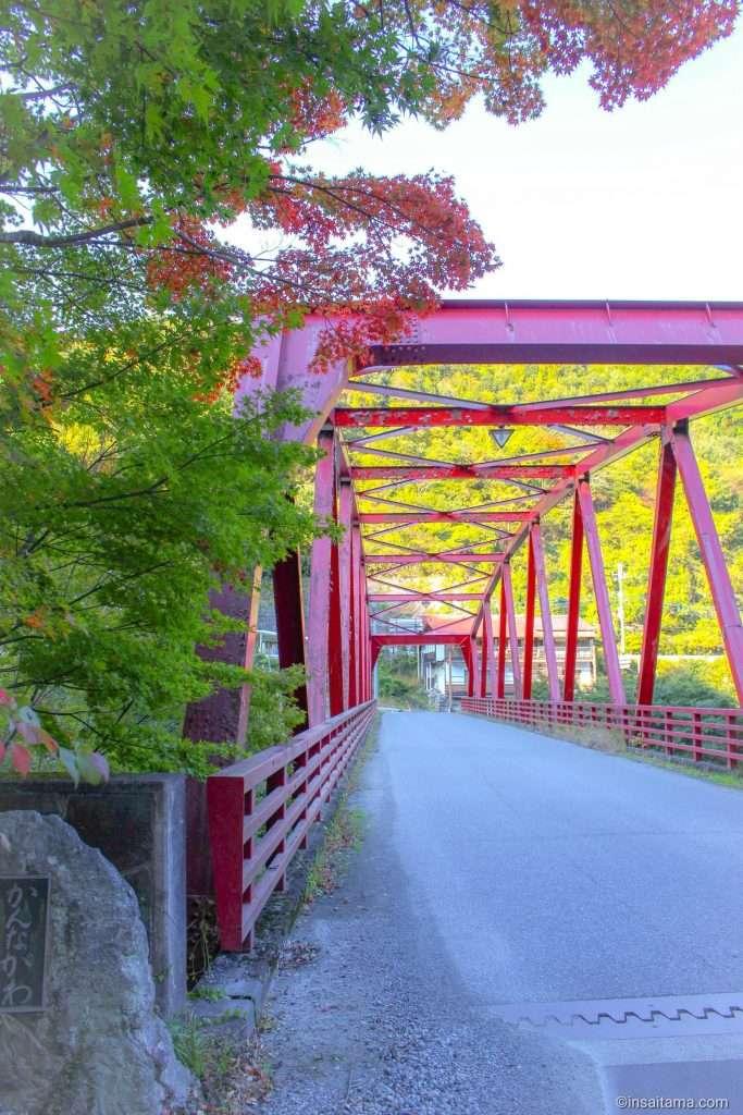 Tosen bridge at Sanbaseki gorge