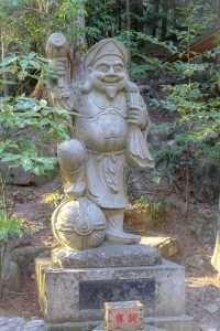 Daikokuten statue at Hodosan Shrine