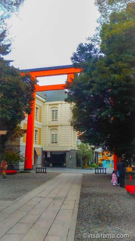 Kawagoe Hikawa Shrine Kaikan