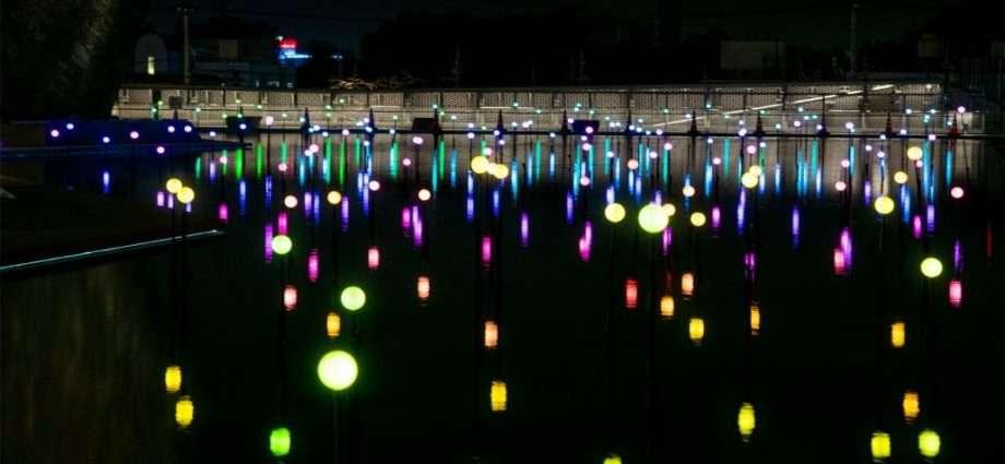 Halloween night illumination Tokorozawa Sakura Town
