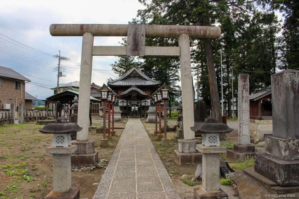 Kijin Shrine Ranzan