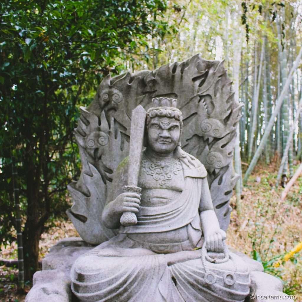 Fudo Myo-o at Tokushoji in Ageo Saitama