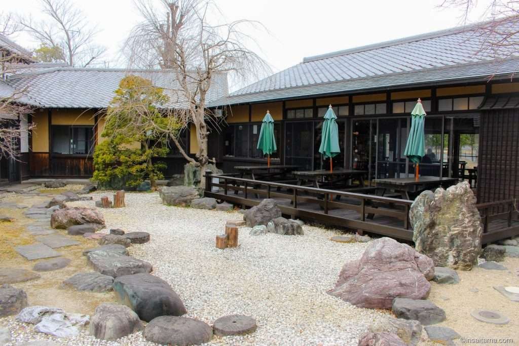Outdoor seating Kakyu no Sato