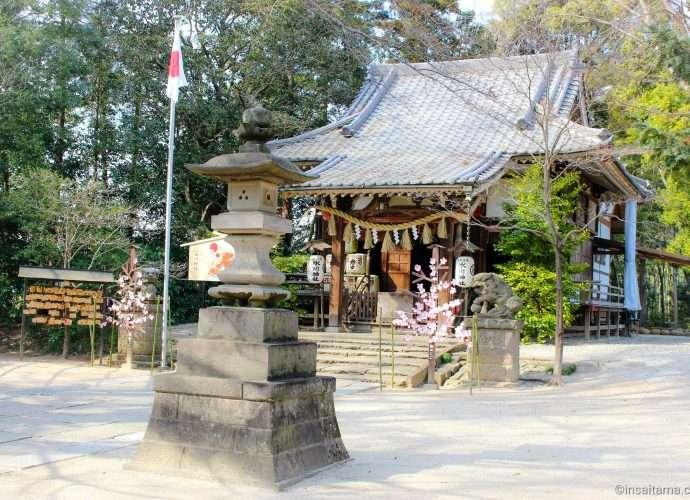 Takao Hikawa Shrine in Kitamoto Saitama Prefecture