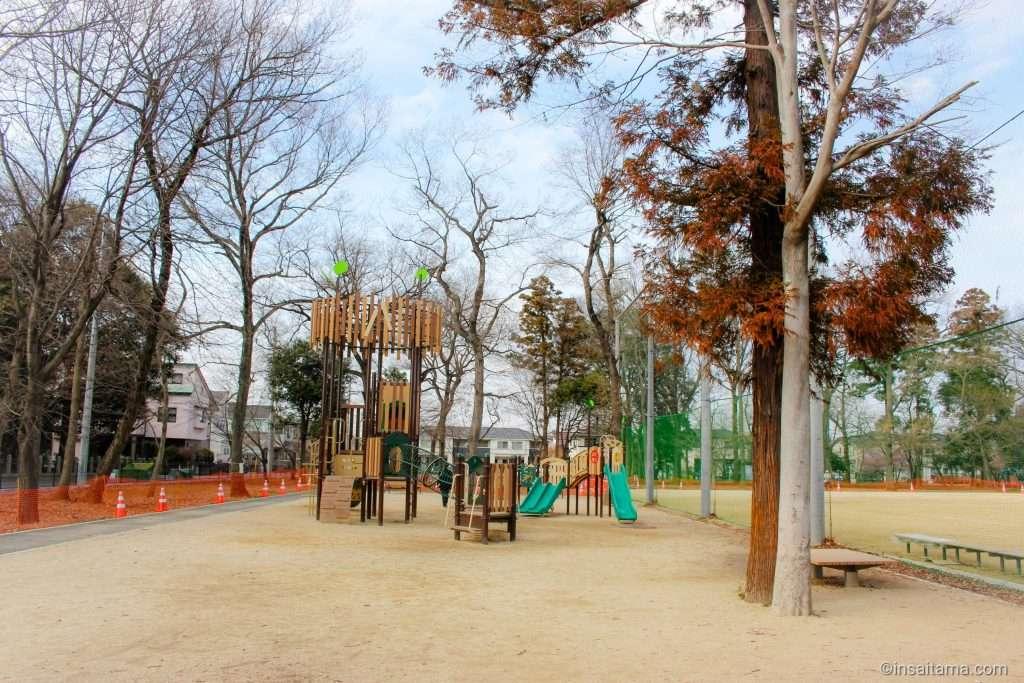playground at Koizumi Hikawasan Park in Ageo