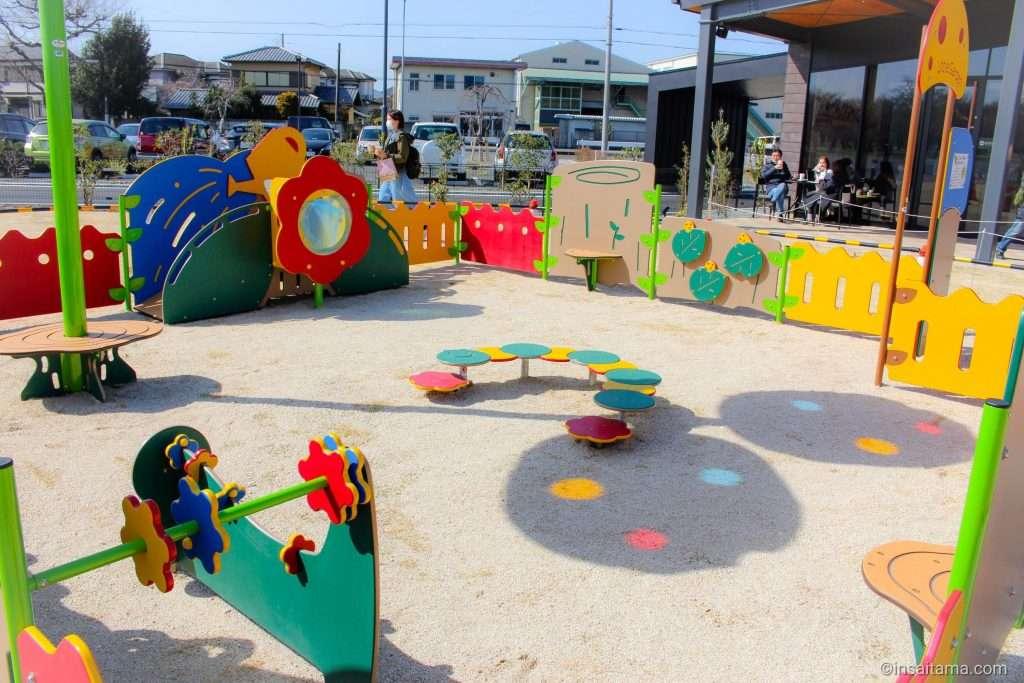 playground at Sayama Starbucks Irumagawa Kasenjiki Central Park