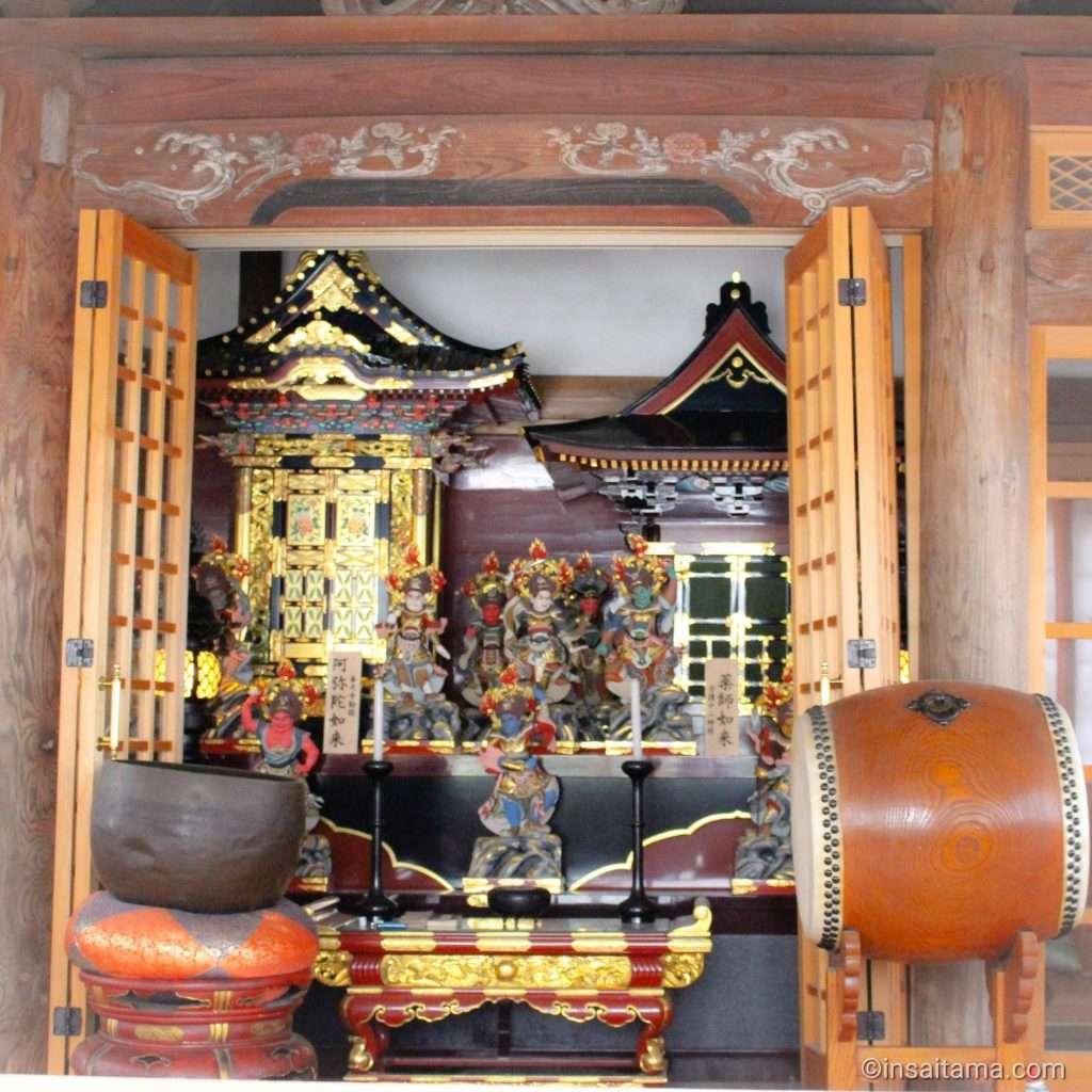 Inside the kannon hall