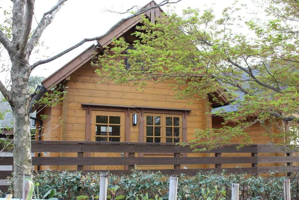 Cabin at Kitamoto Camp Field
