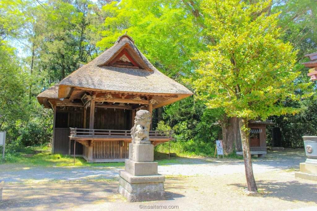 Kagura at Tamashiki shrine