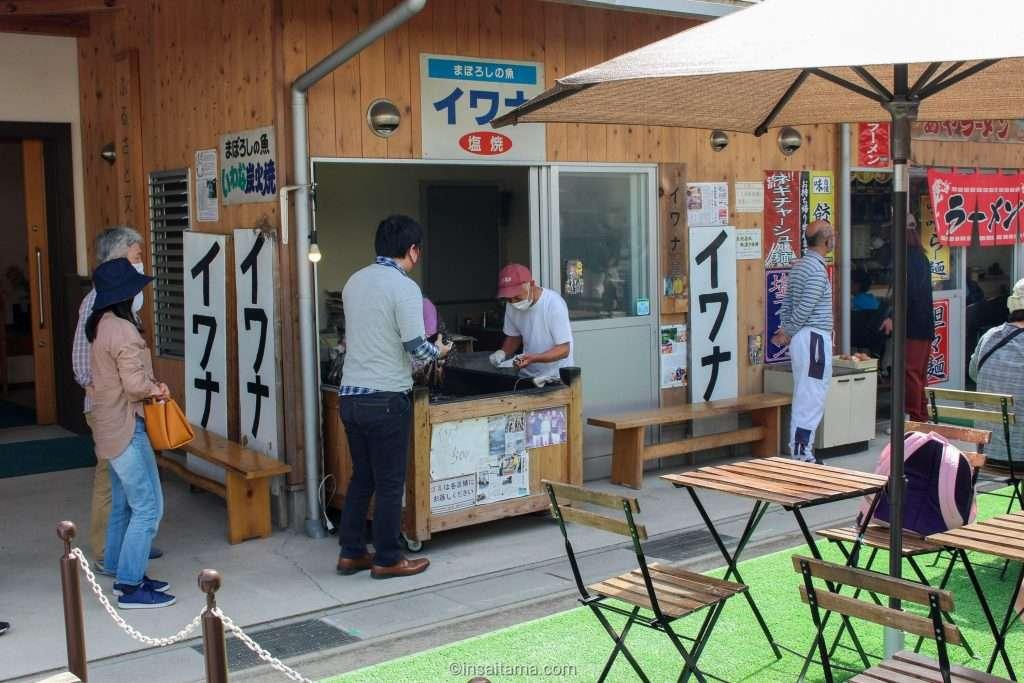 washi no sato food court iwana