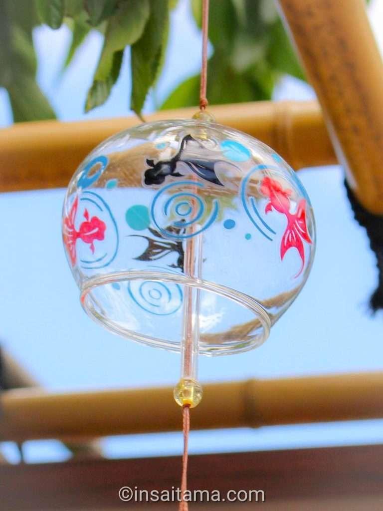 Wind chimes at Saimyouji Temple in Kawagoe May 2021