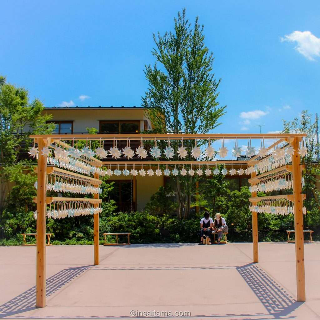 Kawagoe Hikawa Shrine new pinwheel section 2021