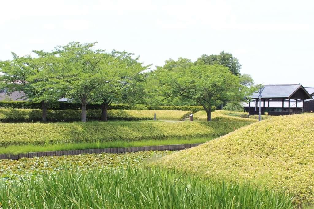 garden at nanbata castle park