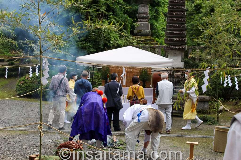 butt burning festival at Iwadono kannon shoboji Higashimatsuyama