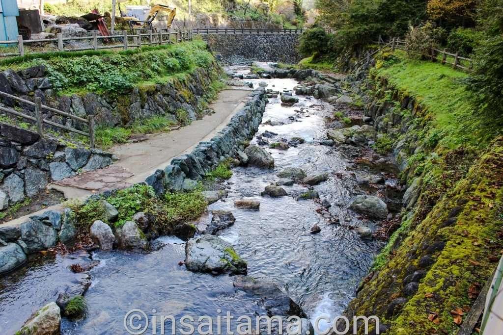 river play at Yano Fishing Park in Kamikawa Saitama Prefecture